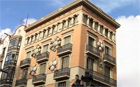 Барселона - сграда