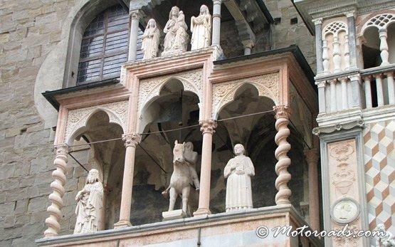 Bergamo - old town