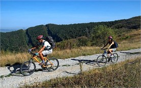 Bicycle ride in Bulgaria