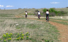 Bicycle tours for children in Bulgaria