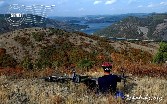 Bicycle tours - Kardzhali lake