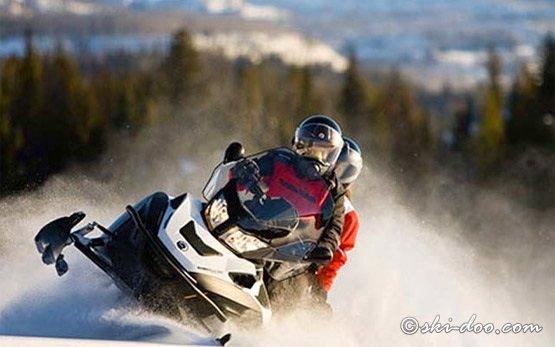 2012 Ski-Doo Grand Touring - snowmobile hire