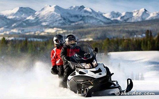 2012 Ski-Doo Grand Touring 550cc - Snowmobile Rental Pamporovo