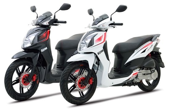 2012 СИМ Симфони 150cc - скутер под наем в Атина