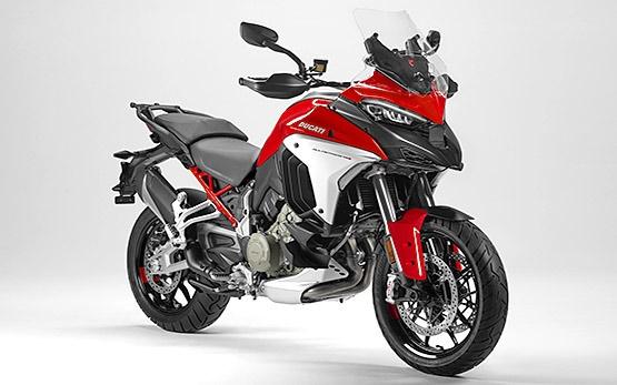 Дукати Гиперстрада - аренда мотоцикла Милано