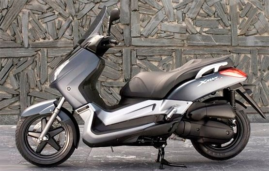 2017 Yamaha X Max 125cc Scooter Rental In Nice France