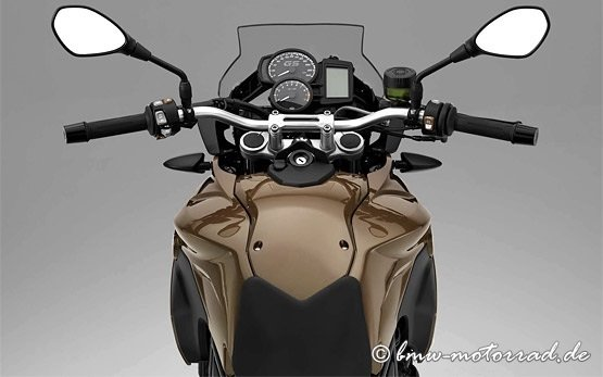 2014 BMW F800 GS - dashboard
