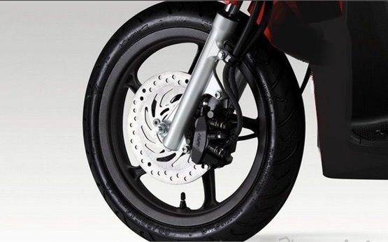 2014 Хонда Спейси 110 - скутер на прокат в Турции
