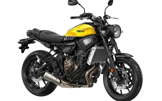2017 Yamaha XSR 700 - аренда мотоцикла Барселоне