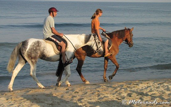 Конна езда в Албена