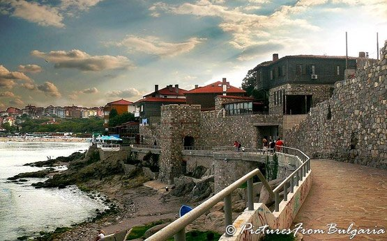 Древняя крепость- Созополь