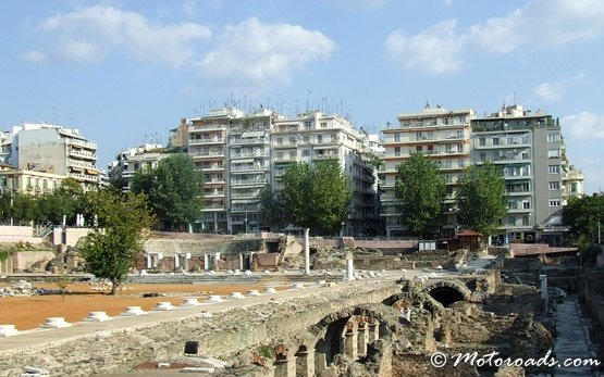 Ancient Ruins in Thessaloniki