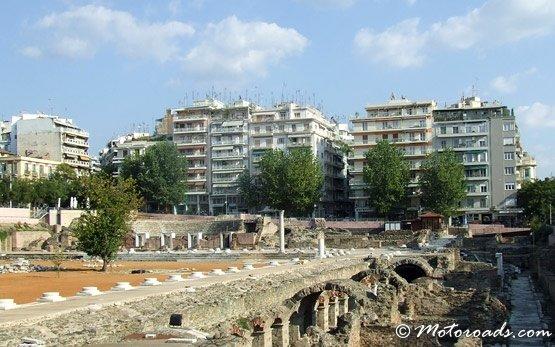 Древние руины в Салониках