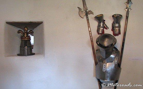 Armour, Bran Castle