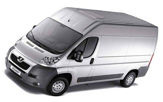 Вид спереди » 2010 Peugeot Boxer Cargo
