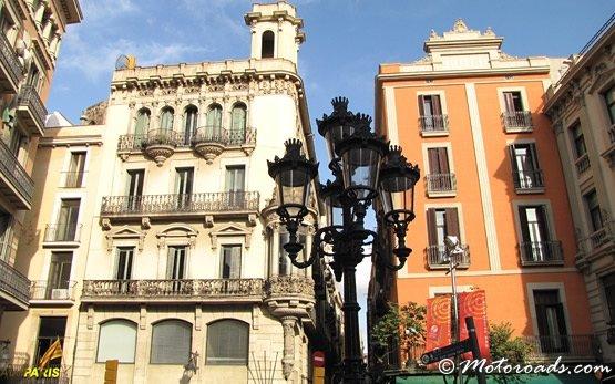 Barcelona - La Rambla street