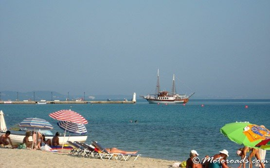 Beach of Pefkohori