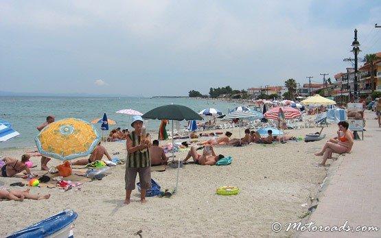 Beach, Pefkohori