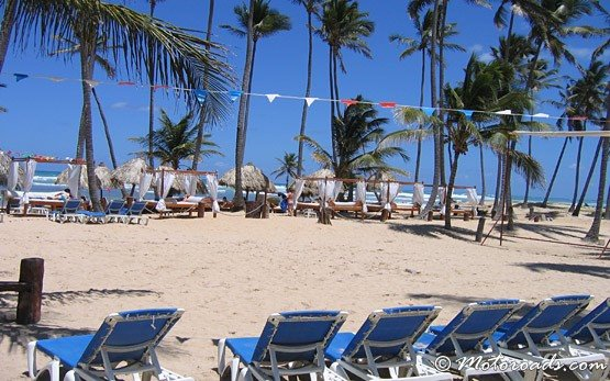 Beach - Bavaro Resort, Dominican Republic