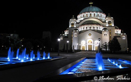 Belgrade`s Saint Sava Church