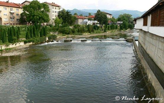 Beli Osam River, Troyan