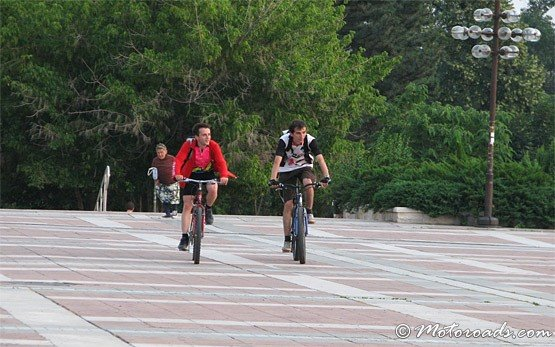 Велосипедисти - Готце Делчев