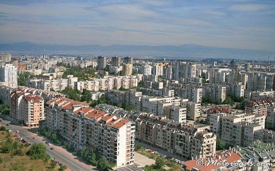 Bird's View of Sofia