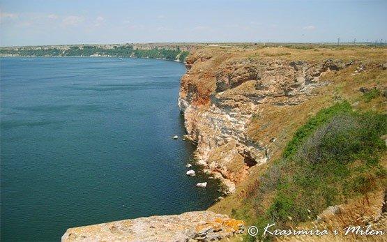 Побережье Черного моря в Каварне
