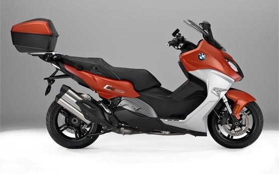 BMW C 650 Sport - scooter rental in France