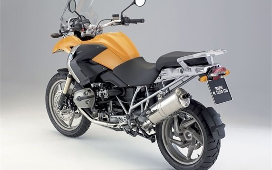 BMW R 1200 GS - motorcycle rent Zagreb Airport