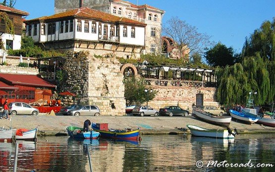 Boats - the old town of Nessebar