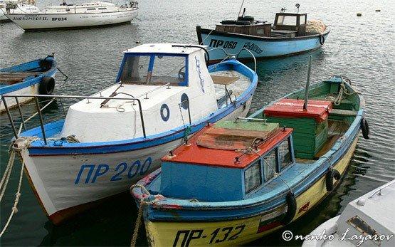 Лодки - Приморско