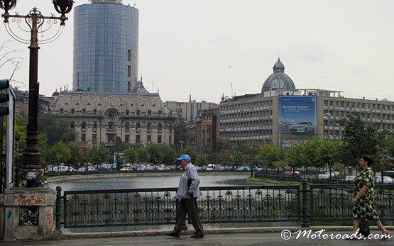 Мост в Бухаресте