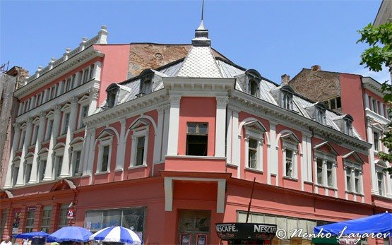 Building in Plovdiv City