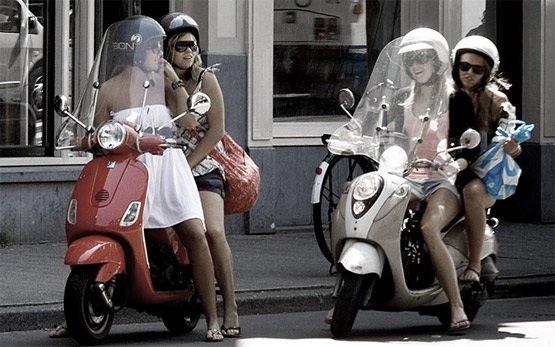 Vespa scooter rentals