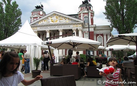 Кафе в центре Софии