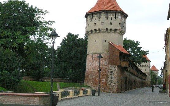 Замък в Сибиу