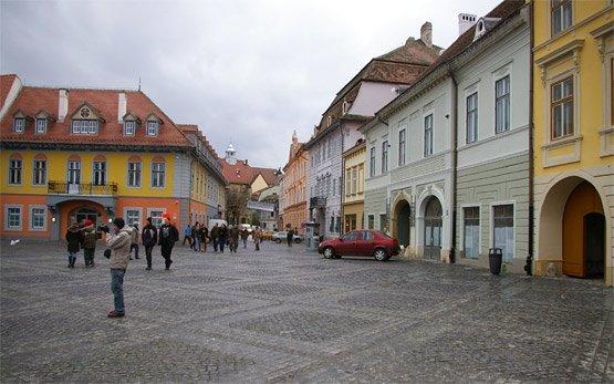 Center of Sibiu