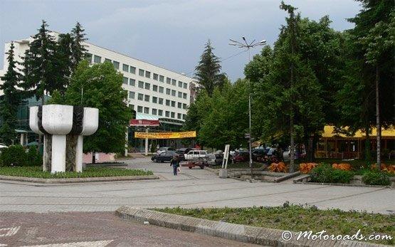 Центр Велинграда