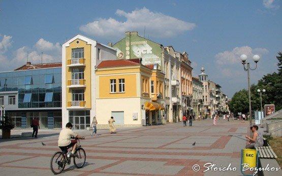 Centre of Shumen
