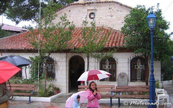 Църквата в Ханиоти