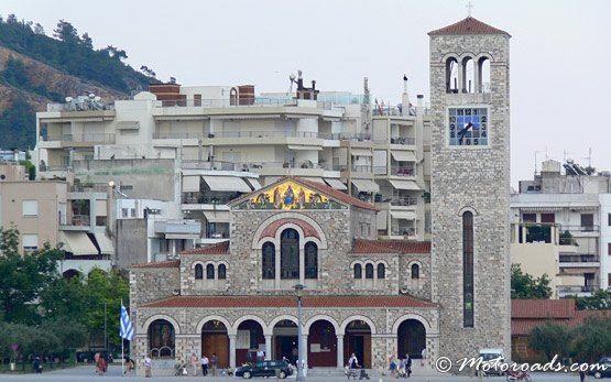 Church, Volos Harbour