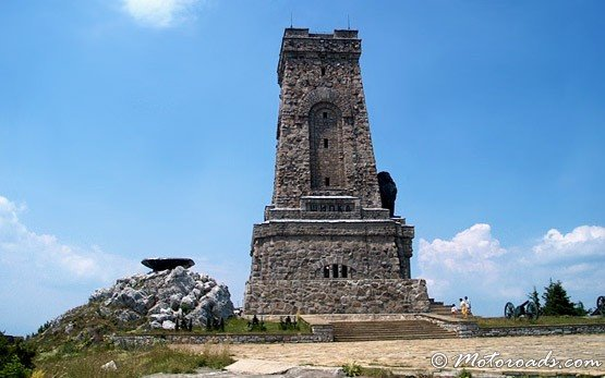 Close View of Shipka Memorial