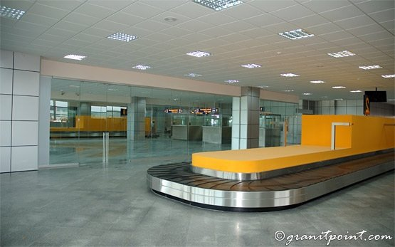Cluj-Napoca Airport - arrival hall