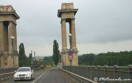 Danube Bridge to Giurgiu