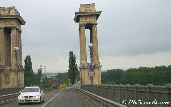 Дунай мост в Джурджу