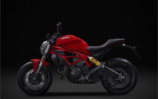 Ducati Monster 797 - motorbike rental Milan