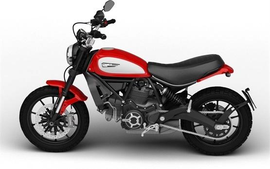 Ducati Scrambler Icon 803  - alquilar una motocicleta en Barcelona