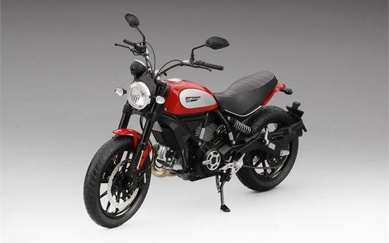 Дукати Скремблер Икон - аренда мотоцикла Рим