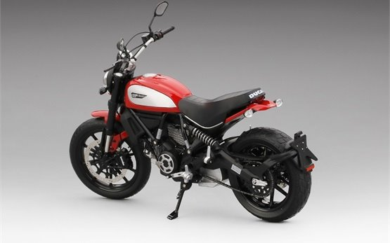 Ducati Scrambler Icon 803 - Motorrad mieten Rom